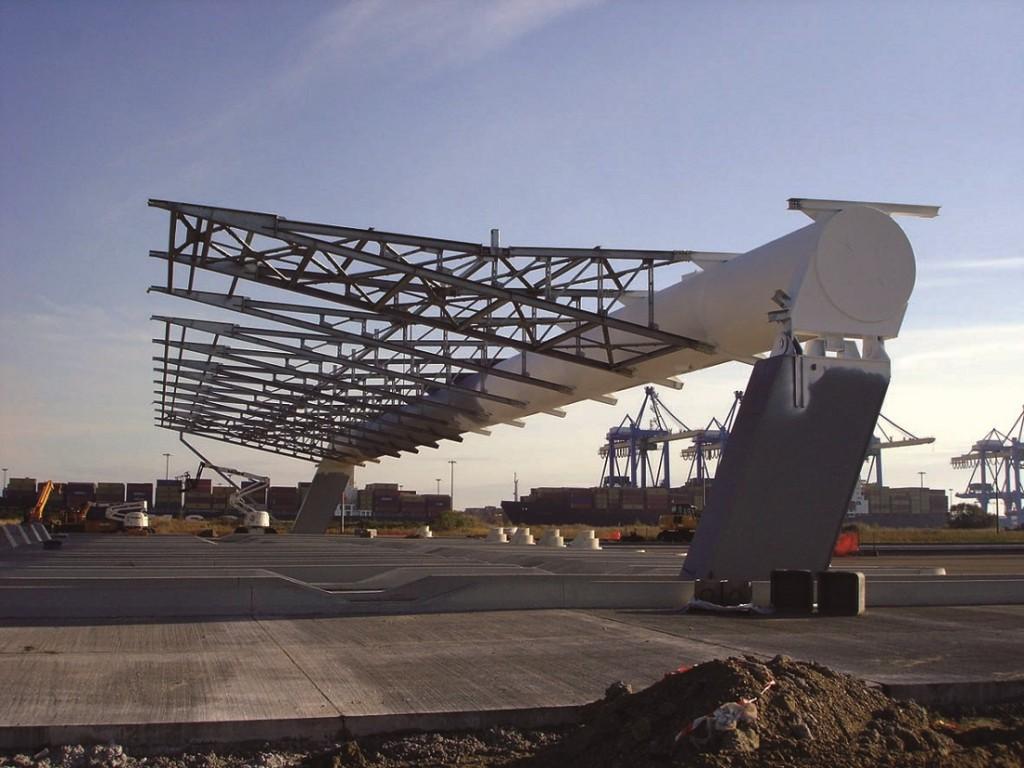 Entrée de Port 2000 chantier oct 05 2