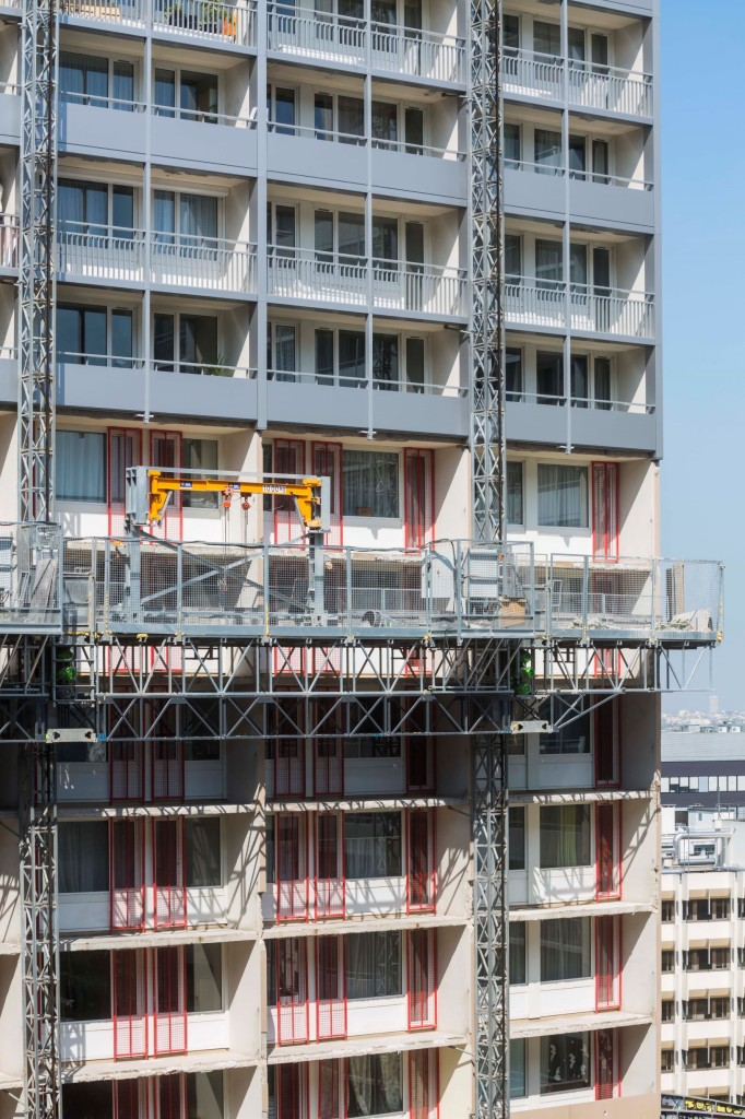 2018 facade en cours ILOT SAY
